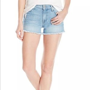 7 For All Mankind Womens Shorts in Melbourne Sky